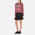 KENZO Women's Tiger Logo Flared Skirt - Black: Image 4