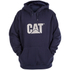 Caterpillar Men's Trademark Sweater Hoody - Blue: Image 1