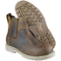 Amblers Safety Men's FS165 Chelsea Boots - Brown: Image 3