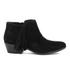 Sam Edelman Women's Paige Suede Tassle Ankle Boots - Black: Image 1