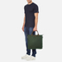 WANT LES ESSENTIELS Men's O'Hare Shopper Tote - Olive/Gunmetal: Image 7