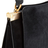 Lulu Guinness Women's Collette Large Leather and Suede Shoulder Bag - Black: Image 7