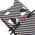 Lulu Guinness Women's Kooky Cat Stripe iPhone 6 Case - Black/White: Image 2