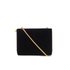 Lulu Guinness Women's Karlie Velvet Clutch with Lip Closure - Black: Image 1