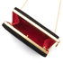 Lulu Guinness Women's Karlie Velvet Clutch with Lip Closure - Black: Image 5
