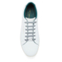 Ted Baker Men's Theeyo3 Leather Cupsole Trainers - White: Image 3