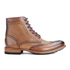 Ted Baker Men's Sealls3 Leather Brogue Lace Up Boots - Tan: Image 1