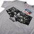 Marvel Men's Captain America Civil War Stars & Stripes T-Shirt - Sport Grey: Image 2