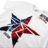 Marvel Herren Captain America Civil War zerbrochenen Stern T-Shirt - Weiss: Image 2