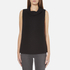 BOSS Orange Women's Willimply Sleevless Arm Drop Tunic Top - Black: Image 1