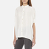 BOSS Orange Women's Clen Oversized Shirt - Natural: Image 2