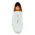 Vivienne Westwood MAN Men's Embossed Squiggle Leather Oxford Trainers - White: Image 3