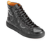 Vivienne Westwood MAN Men's High Top Embossed Squiggle Leather Trainers  - Black: Image 2