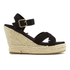Superdry Women's Isabella Wedged Espadrilles - Black: Image 1