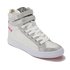 Superdry Women's Hyper Crampon High Top Trainers - Bubblegum Silver: Image 2