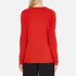 Bella Freud Women's God Created Merino Wool Jumper - Red: Image 3