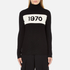 Bella Freud Women's 1970 Polo Merino Wool Jumper - Black: Image 1