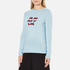 Bella Freud Women's In and Out of Love Merino Jumper - Pale Blue: Image 2