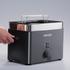 Graef TO62.UK 2 Slice Compact Toaster - Black: Image 3