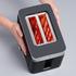 Graef TO62.UK 2 Slice Compact Toaster - Black: Image 6