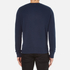 AMI Men's Crew Neck Sweatshirt - Night Blue: Image 3