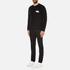 AMI Men's Oversized Crew Neck Sweatshirt - Black: Image 4