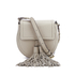Rebecca Minkoff Women's Isobel Tassel Saddle Crossbody Bag - Khaki: Image 1