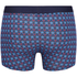 Tommy Hilfiger Men's 3 Pack Icon Trunk Boxer Shorts - Alloy/Samba/Brilliant Blue: Image 3