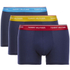 Tommy Hilfiger Men's 3 Pack Premium Essentials Trunk Boxer Shorts - Antique Moss/Brilliant Blue/Samba: Image 1