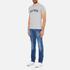 Tommy Hilfiger Men's Organic Cotton T-Shirt - Grey Heather: Image 4