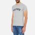 Tommy Hilfiger Men's Organic Cotton T-Shirt - Grey Heather: Image 2