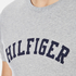 Tommy Hilfiger Men's Organic Cotton T-Shirt - Grey Heather: Image 5