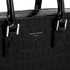 Aspinal of London Women's Small Mount Street Tech Bag - Black Croc: Image 5