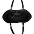 Aspinal of London Women's Regent Croc Tote - Black Croc: Image 4