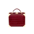 Aspinal of London Women's Mini Croc Trunk - Bordeaux: Image 1
