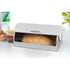 Salter Marble Collection White Classic Bread Bin: Image 2