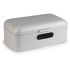 Salter Marble Collection White Window Bread Bin: Image 1