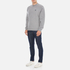 Barbour Heritage Men's Standards Sweatshirt - Grey Marl: Image 4