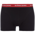Bjorn Borg Men's Contrast Solids Triple Pack Boxer Shorts - Black: Image 7