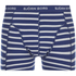 Bjorn Borg Men's 3 Pack Stripe Detail Boxer Shorts - Sodalite Blue: Image 4