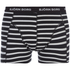 Bjorn Borg Men's 3 Pack Stripe Detail Boxer Shorts - Black: Image 4