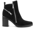 KENZO Women's Totem Heeled Ankle Boots - Black: Image 1