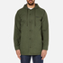OBEY Clothing Men's Slugger Fishtail Parka Jacket - Dark Army: Image 1