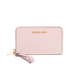 MICHAEL MICHAEL KORS Jet Set Travel Phone Purse - Pink: Image 1