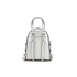MICHAEL MICHAEL KORS Rhea Zip Small Crossbody Backpack - Silver: Image 6