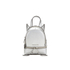 MICHAEL MICHAEL KORS Rhea Zip Small Crossbody Backpack - Silver: Image 1