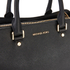 MICHAEL MICHAEL KORS Savannah Satchel - Black: Image 4
