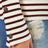 Maison Scotch Women's Long Sleeve Breton T-Shirt - Multi: Image 5