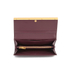 Ted Baker Women's Anneth Matinee Metal T Bar Purse - Oxblood: Image 4