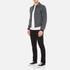 Carven Men's Zipped Blouson Jacket - Gris Grenat: Image 4